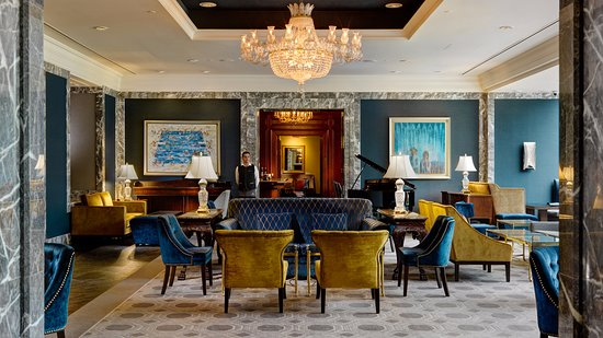 Stylish and elegant, the newly refurbished Lobby Lounge - Picture ...