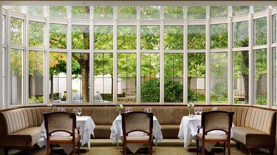 Relaxed luxury in Seasons Restaurant, Dublin's favourite dining spot