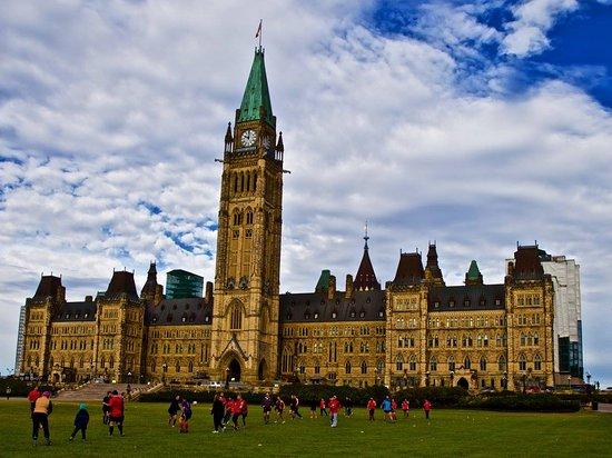 ออตตาวา, แคนาดา: Rugby on Parliament Hill