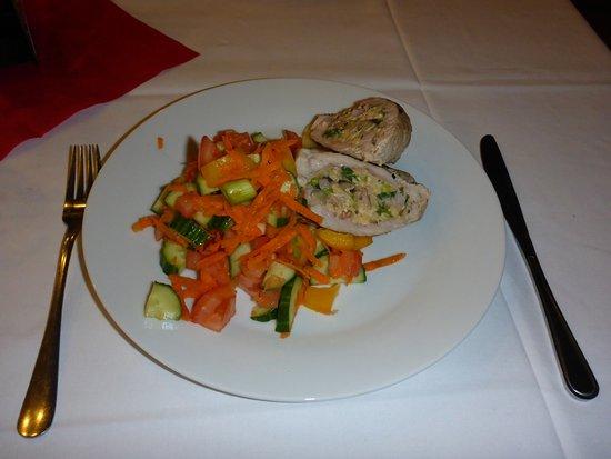 Hotel Fontana: Moje dietní menu.