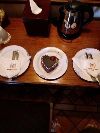 Hotel Suisse: Als verrassing voor onze huwelijksreis !