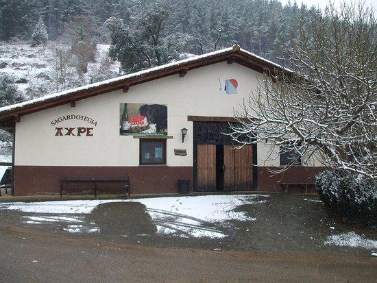 Markina-Xemein, สเปน: snow