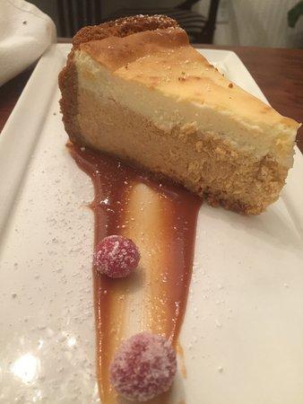 Cloverdale, Kalifornia: Pumpkin cheesecake