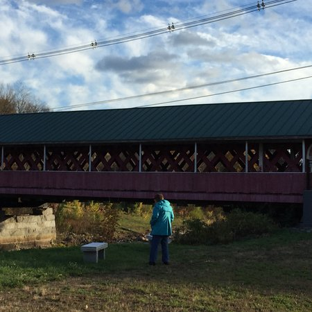 West Swanzey, NH: view of the bridge