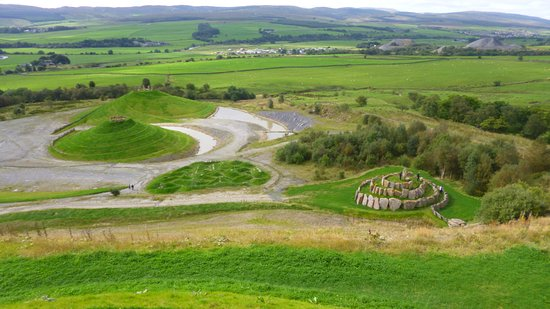 Sanquhar, UK: Spirals to climb