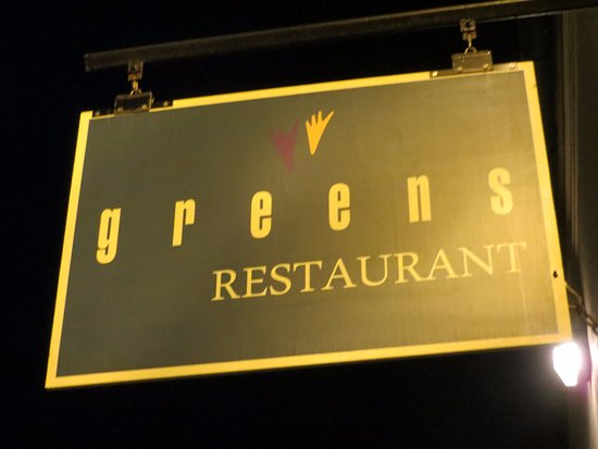 Greens Restaurant: A most unusual Restaurant, but highly enjoyable !
