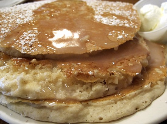 Macadamia Nut Pancakes - Picture of Kaneohe Pancake House, Kaneohe