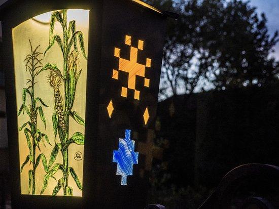 La Posada Hotel: Garden light