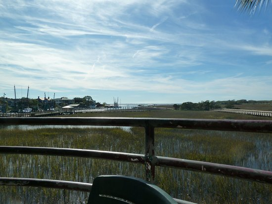 Shem Creek View Outside Of Vickerys Picture Of Vickery 39 S