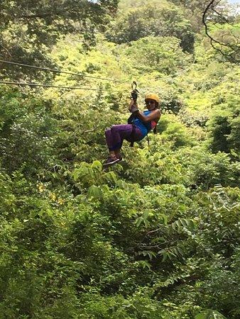Rincon de La Vieja, Costa Rica: Zipline
