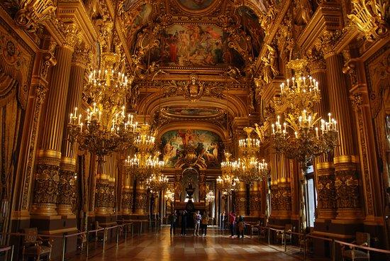 L Opéra Garnier Grand Foyer De L Opera : Le grand foyer de l opéra garnier foto van palais