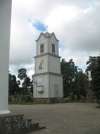 Alytus County, Lituania: Pivasiunai - Assumption of Blessed Mary Virgin Church