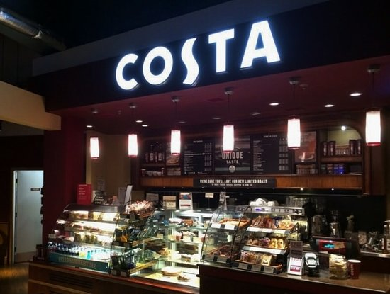 Finally All Day Breakfast Wrap Costa Coffee Manchester