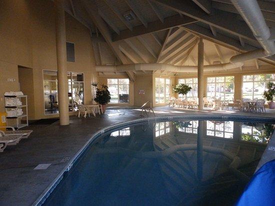 MainStay Suites: Indoor Pool Area