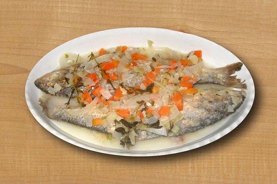 Perledo, Italië: pesce in carpione