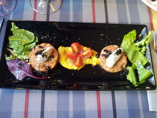 Province of Caceres, Spanyol: Tartar de salmon