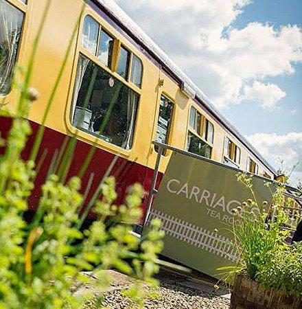 Bellingham, UK: Carriages tea room