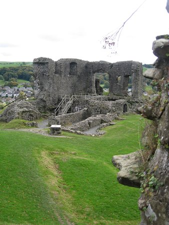 Kendal, UK: View from inside the castle