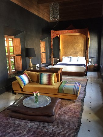 El Fenn: This is just the bedroom of our suite!