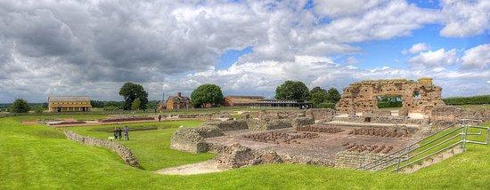 Roman ruins at Wroxeter