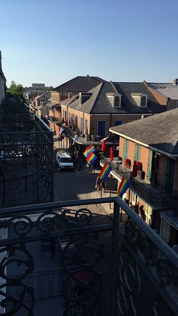 Bourbon Orleans Hotel: Balcony View