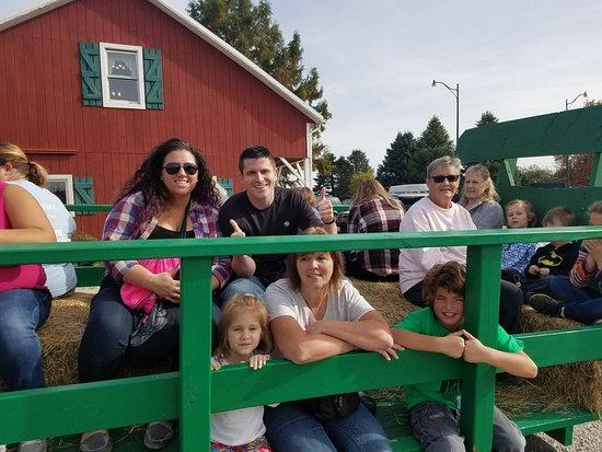 Rantoul, IL: wagon ride