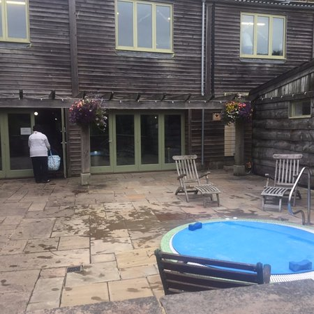 Indoor pool and out door hot tub Picture of Flear Farm Cottages