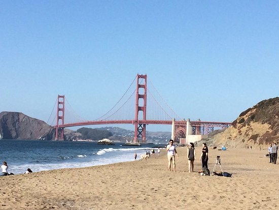 Baker Beach Golden Gate Bridge