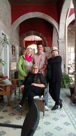 Casa Limonchelo : Arquitecto Raúl, gran anfitrión