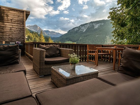 Langwies, Switzerland: Terrasse