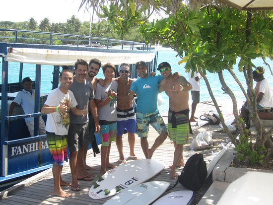 Adaaran Select Hudhuranfushi: trip de barco para Sultans, uma direita fantástica!