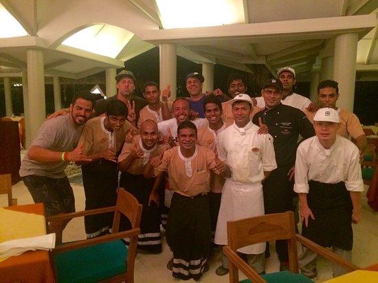 Adaaran Select Hudhuranfushi: obrigado a todos!