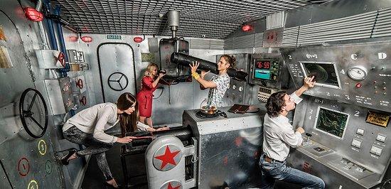 Nottingham Escape Room Submarine