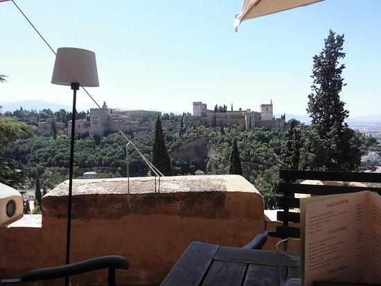 Terraza Y Alhambra Picture Of El Huerto De Juan Ranas