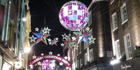 Westminster Walks : Christmas Lights 2015 (Foodie Christmas Lights Walk)