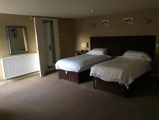 Saxmundham, UK: Our twin room