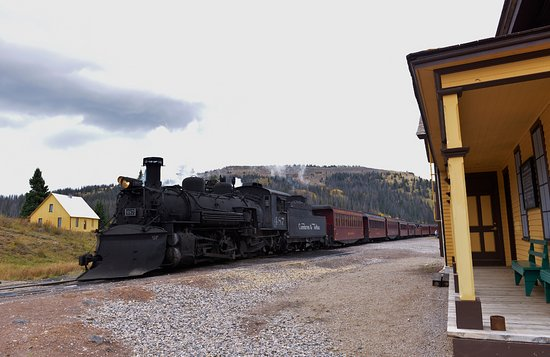 Antonito, CO: The Stations at the top of Cumbres Pass
