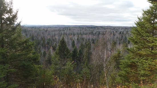 Two Harbors, MN: Gooseberry Falls State Park Overlook