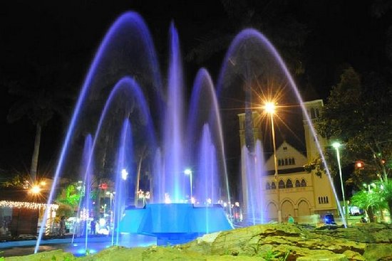 Patrocinio, MG: Praça Santa luzia