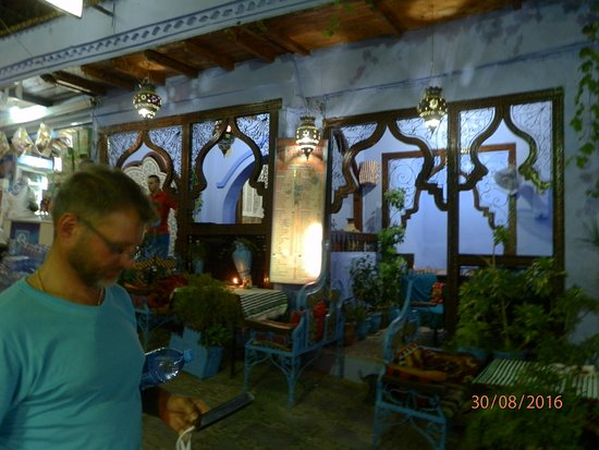 Al-Kasbah Restaurant : Restaurante Al Kasbah de Chefchauen