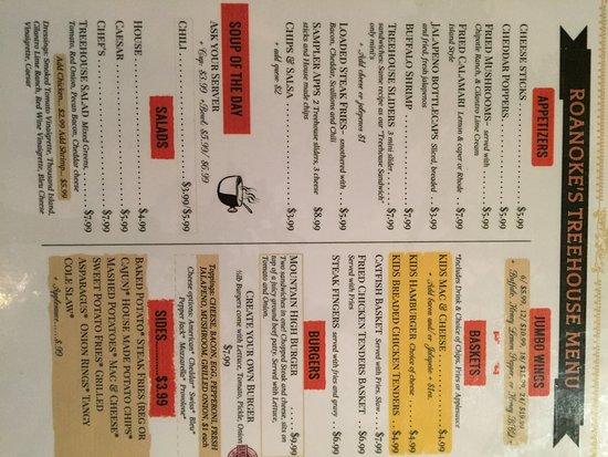 Roanoke, Τέξας: Daily menu is full of variety