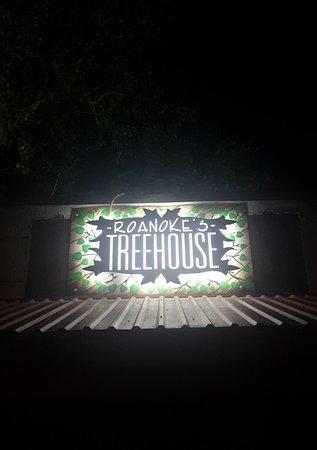 Roanoke, TX: Same place built around the big tree, new name!