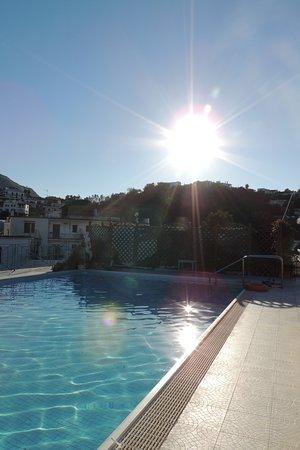 piscina sul terrazzo - Picture of Grand Hotel Terme di Augusto ...