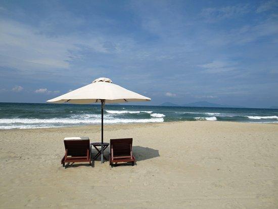 Victoria Hoi An Beach Resort & Spa: Private Beach (1 min walk from pool)