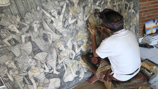 Ubud Unique Tour - Day Tours : Traditional painting