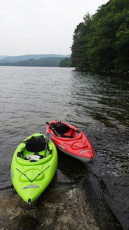 Newfound Lake: Great lake to kayak on