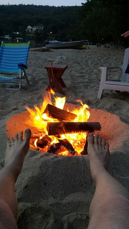 Grafton, NH: Perfect beach for fires