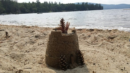 Grafton, NH: Great sand for castles