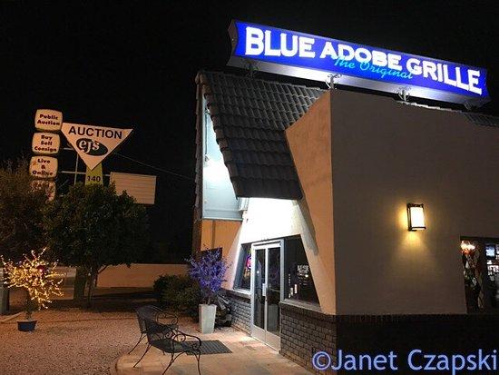 Blue Adobe Sante Fe Grille : photo0.jpg