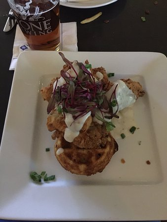 Florham Park, Nueva Jersey: Good chicken and waffles